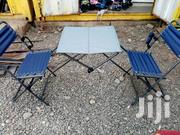 Foldable Camping/Picnic Chair N Table Set, Ex Uk | Garden for sale in Nairobi, Roysambu