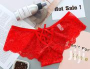 Sexy Half Cover Panty With Back Cross And Bow Design | Clothing for sale in Mombasa, Bamburi