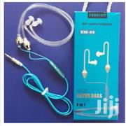 Earphones, Blue Anti-Radiation Air-Tube Headsets, 3.5mm | Headphones for sale in Nairobi, Nairobi Central
