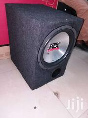 MTX Thunder 5500 Deep Bass Woofer In Single Breather Cabinet | Vehicle Parts & Accessories for sale in Nairobi, Nairobi Central