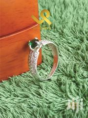 Genuine Silver Ladies Engagements Ring. Comes in Emerald and Zircon | Jewelry for sale in Nairobi, Nairobi Central