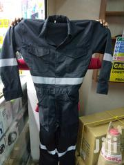 Black Coverall With Reflective Strip And Elastic Back | Safety Equipment for sale in Nairobi, Nairobi Central