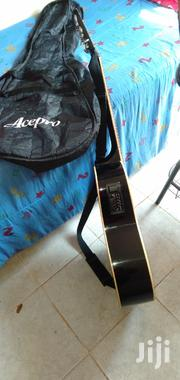 High Sound Quality Black Semi-Acoustic Fender Guitar With Bag Strap | Musical Instruments for sale in Nairobi, Nairobi Central