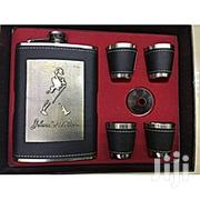 Johnnie Walker 9oz Whisky Flask. Leather Whisky Flask | Kitchen & Dining for sale in Nairobi, Nairobi Central