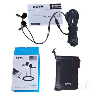 BOYA BY-LM400 Professional Clip-on Dual Omnidirectional Lavalier Mic