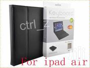 Wireless Bluetooth Keyboard Leather Case Cover For iPad Air iPad 5 | Accessories for Mobile Phones & Tablets for sale in Nairobi, Nairobi Central