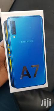 New Samsung Galaxy A7 64 GB Blue   Mobile Phones for sale in Nairobi, Nairobi Central