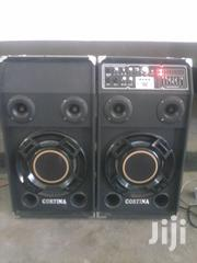 "2 Powerd Speakers With ""Bluetooth"" & Digital Stero Echo Mixer 