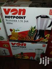 Hot Point Blender Brand New And Genuine. Order We Deliver | Kitchen Appliances for sale in Mombasa, Majengo