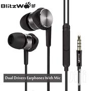 Blitzwolf VOX 1 Dual Dynamic Earphones | Accessories for Mobile Phones & Tablets for sale in Nairobi, Nairobi Central