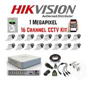 Hikvision 16 CCTV Cameras Kit and DVR With 1 TB Hard Disk | Security & Surveillance for sale in Nairobi, Nairobi Central