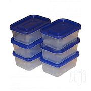 Set of 6 Clear Plastic Food Storage Containers | Kitchen & Dining for sale in Nairobi, Pangani
