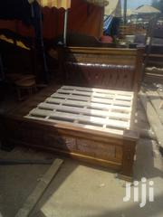 Wooden Bed. | Furniture for sale in Nairobi, Ngando