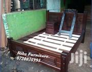 5x6 Bed Made of Mahogany Wood | Furniture for sale in Uasin Gishu, Racecourse