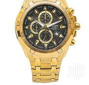 CASIO CASIO Gold EF550 Metallic Strap Watch | Watches for sale in Nairobi, Nairobi Central