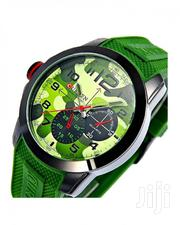 Green Resin Band Military Wrist Watch CUR3130MILITARY | Watches for sale in Nairobi, Nairobi Central