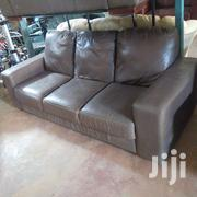 Ex UK Leather Sofas - 5 Seater | Furniture for sale in Nairobi, Mihango
