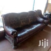 Ex UK Leathet Sofa Seats - 4 Seater | Furniture for sale in Nairobi, Mihango