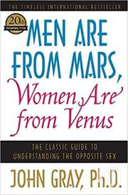 Men Are From Mars Women Are From Venus-john Gray | Books & Games for sale in Nairobi, Nairobi Central