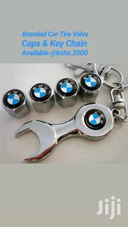 Brand Car Tire Valves Caps 4pcs + Wrench Key Chain | Vehicle Parts & Accessories for sale in Nairobi, Landimawe