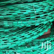 Coated And Crossed Coiled Green Razor Wire | Building Materials for sale in Nairobi, Nairobi Central