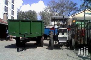 Agriculture/Civil Work Tipping Trailers Single Axle Double Wheel