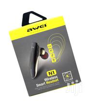 Awei N1 Single Wireless Bluetooth Earbuds Headphone With Mic | Audio & Music Equipment for sale in Nairobi, Nairobi Central
