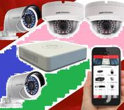 4 CCTV Camera Full Set Sale | Cameras, Video Cameras & Accessories for sale in Nairobi, Nairobi Central