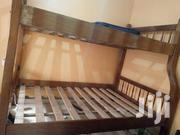 Strong Double-decker Mahogany Bed | Furniture for sale in Nairobi, Karura