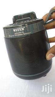 Wster Ws-2816 Portable Wireless Bluetooth Speaker,Mp3 Player + Radio | Audio & Music Equipment for sale in Nairobi, Nairobi Central