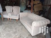 3 Seater Chesterfield Seat and Two Wingback Chairs | Furniture for sale in Nairobi, Ngara