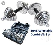 Adjustable Dumbells 20kg | Sports Equipment for sale in Nairobi, Nyayo Highrise