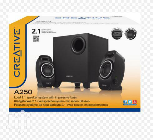 Creative A250 2.1 Speaker System with Subwoofer