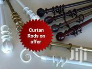 Strong Curtain Rods With A Metal Coated With PVC Material | Building Materials for sale in Nairobi, Imara Daima