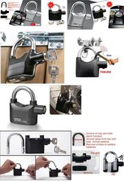 Automatic Tamperproof Security Anti-theft Alarm Padlock | Home Accessories for sale in Nairobi, Nairobi Central