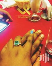 Ladies Engagements/Accessory Green Emerald Genuine Silver Ring | Jewelry for sale in Nairobi, Nairobi Central