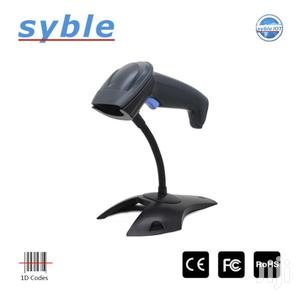Hand Held Laser Barcode Scanner With Stand