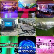 Staging And Trussing Services | Party, Catering & Event Services for sale in Nairobi, Roysambu