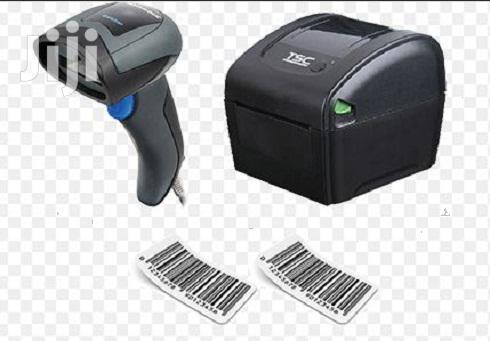 Brand New Thermal Receipt Printer + Barcode Scanner With Stand