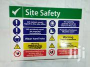 A3 Site Safety Signs | Safety Equipment for sale in Nairobi, Nairobi Central