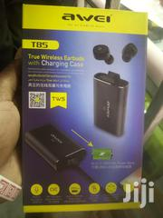Awei T85 Binaural Wireless Bluetooth Headset | Accessories for Mobile Phones & Tablets for sale in Nairobi, Nairobi Central