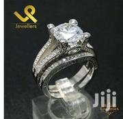 Statement Jewelry 3.1ct Zirconia Solid Silver Wedding Engagement Ring | Jewelry for sale in Nairobi, Lower Savannah