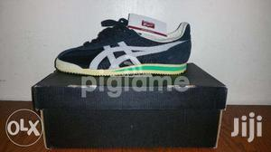 huge selection of 7a4e9 84341 Tiger Corsair Vin BLACK/LIGHT GREY D321N-9013 MEN ASICS Shoes