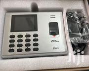 ZK Teco K40 Biometric Time Attendance Terminal W/ Fingerprint ID | Safety Equipment for sale in Nairobi, Nairobi Central