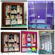 3 Columns Wooden Frame Portable Wardrobes Available   Furniture for sale in Nairobi, Kahawa West