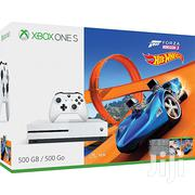 Microsoft XBOX 1 Console Slim 500GB White + Forza Horizon 3 Hot Wheels | Video Game Consoles for sale in Nakuru, Lanet/Umoja