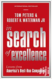 In Search Of Excellence- Tom Peters And Robert Waterman | Books & Games for sale in Nairobi, Nairobi Central