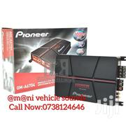 PIONEER GM A6704 PEAK 4 CHANNEL A SERIES BRIDGEABLE 1000W | Vehicle Parts & Accessories for sale in Nairobi, Nairobi Central