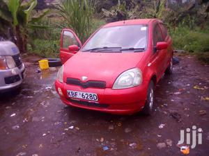 Toyota Vitz 2002 Red
