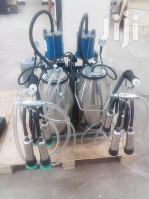 Two Cow Milking Machine.